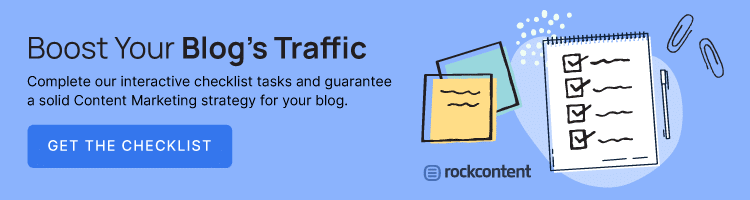 Interactive checklist -- increase blog's traffic