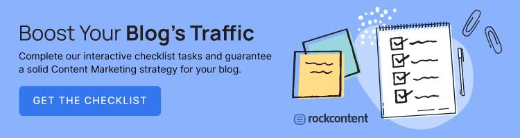 Interactive checklist -- increase blog's traffic