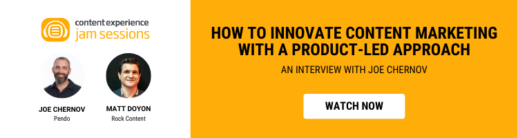 How to Innovate Content Marketing with a Product-Led Approach