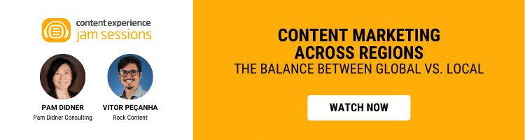 Content Marketing Across Regions — the balance between global vs. local