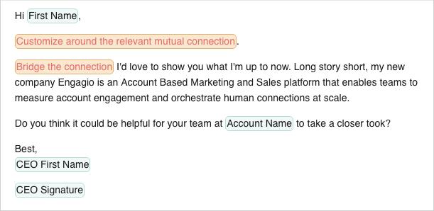 ABM marketing tatic of direct mail