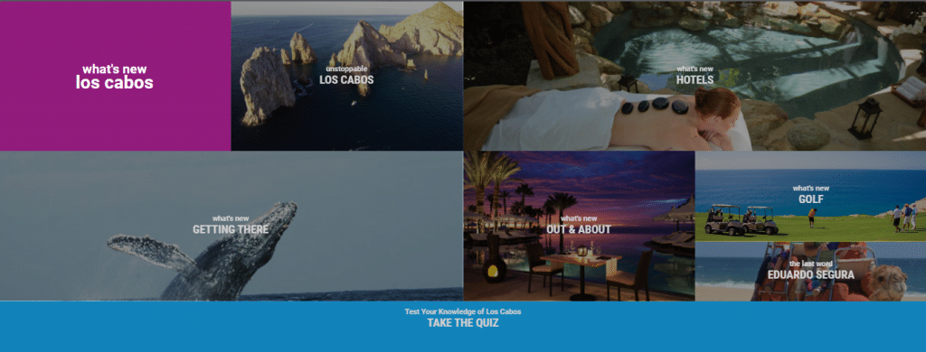 interactive lookbook for los cabos