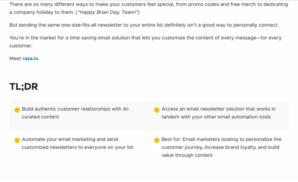 appsumo email marketing