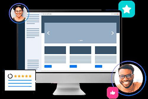 Notebook vector with WordPress