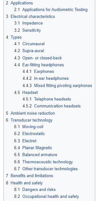 Categories in Wikipedia.