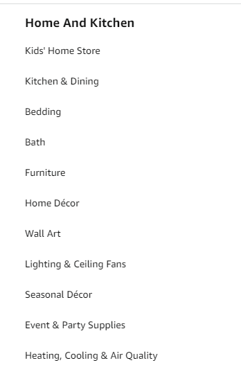 Keywords used in this category.