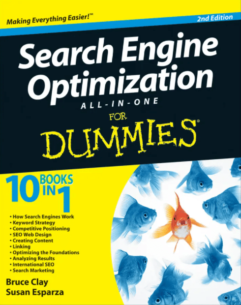 Search Engine Optimization All-in-One for Dummies by Bruce Clay and Susan Esparza